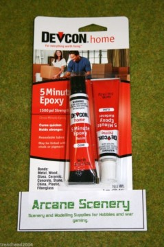 DEVCON 5 Minute EPOXY ADHESIVE twin tube pack 28g
