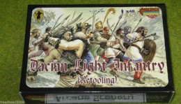 Dacian Light Infantry 1/72 Scale Strelets mini set M022