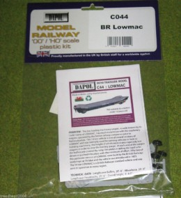 Dapol BR LOWMAC 1/76 Scale scenery Kit 00/HO C44