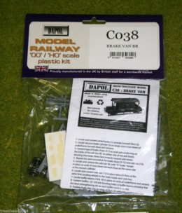 Dapol BRAKE VAN BR 1/76 Scale scenery Kit 00/HO C38