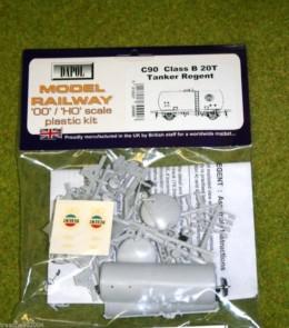 Dapol CLASS B 20T TANKER REGENT 1/76 Scale scenery Kit 00/HO C90