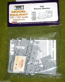 Dapol DREWERY SHUNTER 1/76 Scale scenery Kit 00/HO C60