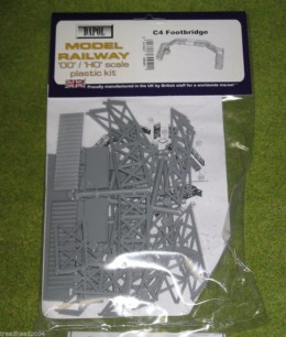 Dapol FOOT BRIDGE 1/76 Scale scenery Kit 00/HO C004