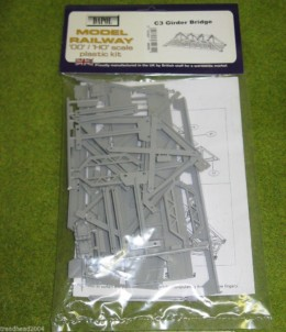 Dapol GIRDER BRIDGE 1/76 Scale scenery Kit 00/HO C003
