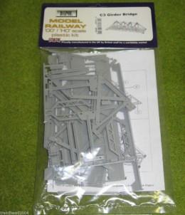Dapol GIRDER BRIDGE 1/76 Scale scenery Kit 00/HO C003