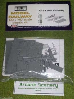 Dapol LEVEL CROSSING 1/76 Scale scenery Kit 00/HO C015