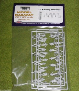 Dapol RAILWAY WORKMEN 1/76 Scale scenery Kit 00/HO C002