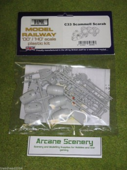 Dapol SCAMMELL SCARAB 1/76 Scale scenery Kit 00/HO C33