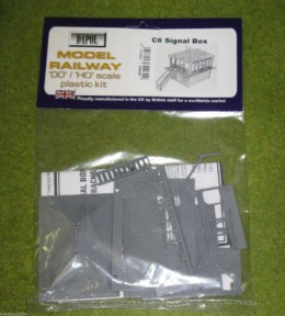 Dapol SIGNAL BOX 1/76 Scale scenery Kit 00/HO C006