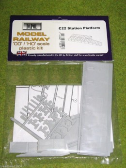 Dapol STATION PLATFORM 1/76 Scale scenery Kit 00/HO C22