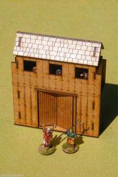 Dark Age PALISADE GATE 28mm Laser cut MDF scale Building  J003