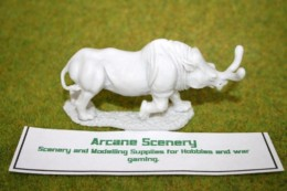 DeeZee Miniatures BRONTOTHERIUM – Adult Resin Model DZ02 28mm Wargames