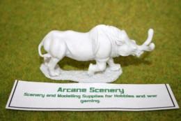 DeeZee Miniatures BRONTOTHERIUM – Adult Resin Model DZ02 28mm Wargames