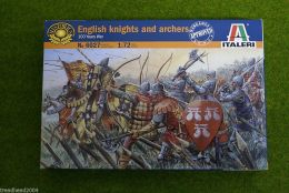 English Knights 1/72 Italeri 6027 Historical wargames