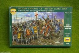 English Knights of 100 years War 1/72 Zvezda 8044