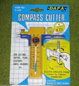 Expo Tools  COMPASS CUTTER CIRCLE CUTTER 71220