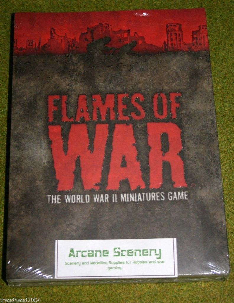 FLAMES OF WAR 3rd EDITION RULE BOOK