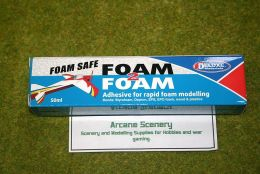 FOAM 2 FOAM Deluxe Materials Glue 50mls Tube