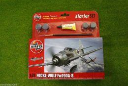 FOCKE-WULF FW190A-8 1/72  Airfix Starter set A55110