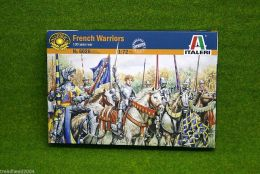 FRENCH WARRIORS 100 YEARS WAR 1/72 Italeri 6026 Historical wargames
