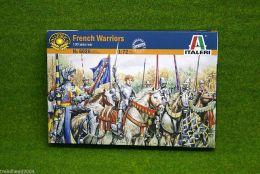 FRENCH WARRIORS 100 YEARS WAR 1/72 Italeri 6026 Historical wargames