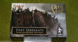 FireForge Games FOOT SERGEANTS 28mm Plastic set