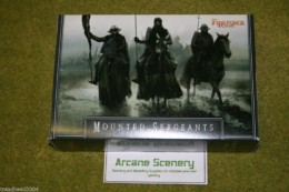 FireForge Games MOUNTED SERGEANTS 28mm Plastic set