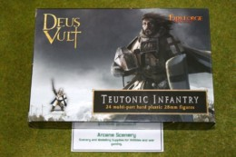 FireForge Games TEUTONIC INFANTRY 28mm Plastic set