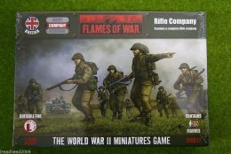 Flames of War British RIFLE COMPANY 15mm BBX11