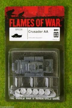 Flames of War CRUSADER AA British AA Tank 15mm BR036