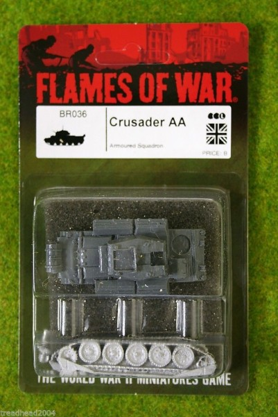 Flames of War CRUSADER AA British AA Tank 15mm BR036