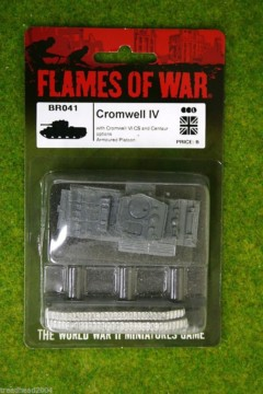 Flames of War Cromwell  IV British Cruiser Tank 15mm BR041