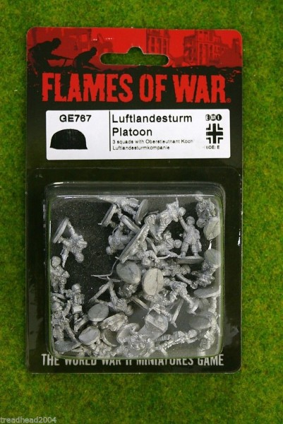 Flames of War GERMAN Luftlandesturm Platoon 15mm GE767