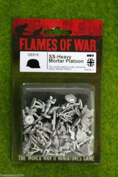 Flames of War GERMAN SS Heavy Mortar Platoon 15mm GE818