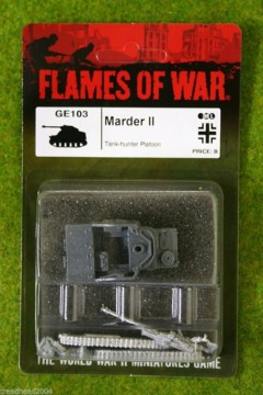 Flames of War MARDER II German Late War 15mm GE103