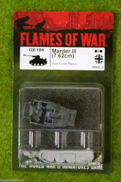 Flames of War MARDER III German Late War 15mm GE104