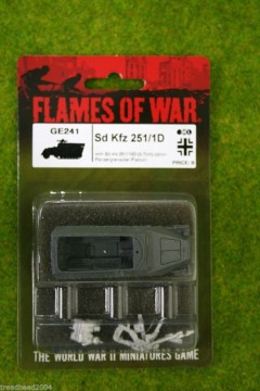 Flames of War SD. Kfz. 251/1D German Late War 15mm GE241