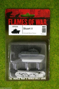Flames of War STUART V British Light Tank 15mm BR009