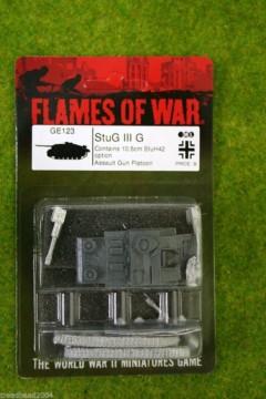 Flames of War STUG III G German Late War 15mm GE123