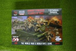 Flames of War T-34 TANKOVY COMPANY 15mm SBX30