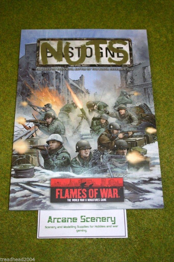Flames of war Supplement – NUTS – the seige of Bastogne Battle of the Bulge