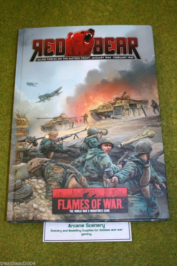 Flames of war Supplement – RED BEAR Allied forces on the Eastern Front 1944 – 45