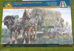 French Army Support Convoy 1/72 Italeri Napoleonic set 6017