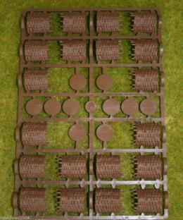 GABIONS x 1  Frame Renedra Diorama Wargames Scenery & terrain 28mm