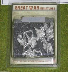 GREAT WAR MINIATURES B.E.F. Infantry Advancing B101