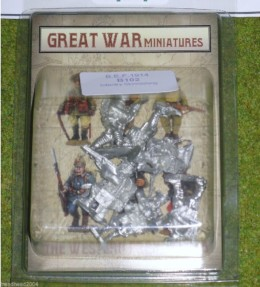 GREAT WAR MINIATURES B.E.F. Infantry Skirmishing B102
