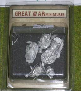 GREAT WAR MINIATURES B.E.F. VICKERS GUN & CREW B103