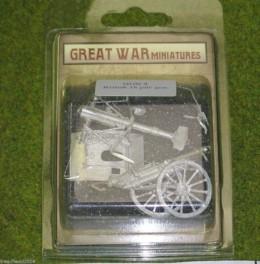 GREAT WAR MINIATURES British 18 PDR GUN Mk1  28mm GUN2