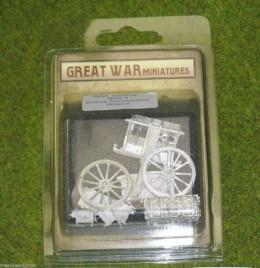 GREAT WAR MINIATURES British Ammunition Wagon GUN3 28mm