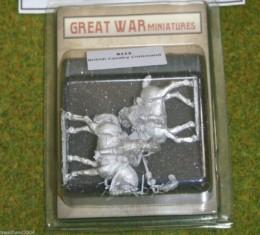 GREAT WAR MINIATURES British Cavalry Command 1914 early War B113 28mm